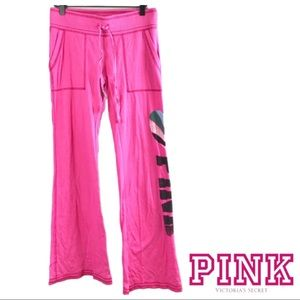 PINK Victoria's Secret Wide Leg Boyfriend Pants